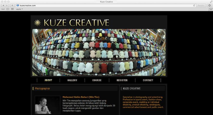 kuzecreative_website