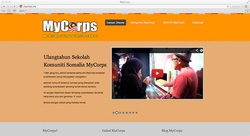 mycorps_website
