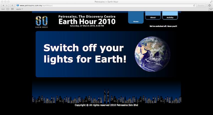 petrosains_earthhourwebsite